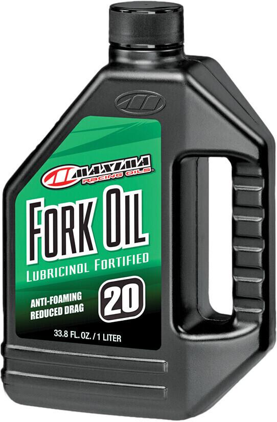 Fork Oil, Lubricinol, 20W, 1 Liter, Maxima