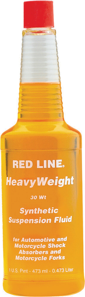 Suspension Fluid, Synthetic, 30W, 16 OZ, Red Line