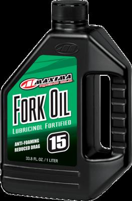 Fork Oil, Lubricinol, 15W, 1 Liter, Maxima