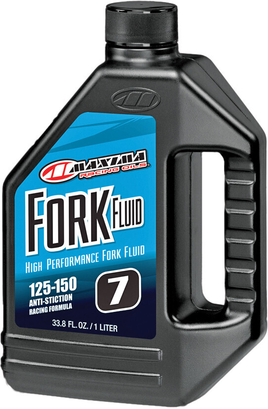 Fork Fluid, 125-150, 7W, 1 Liter, Maxima