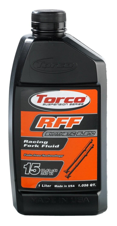 Fork Fluid, RFF, 15W, 1 Liter, Torco