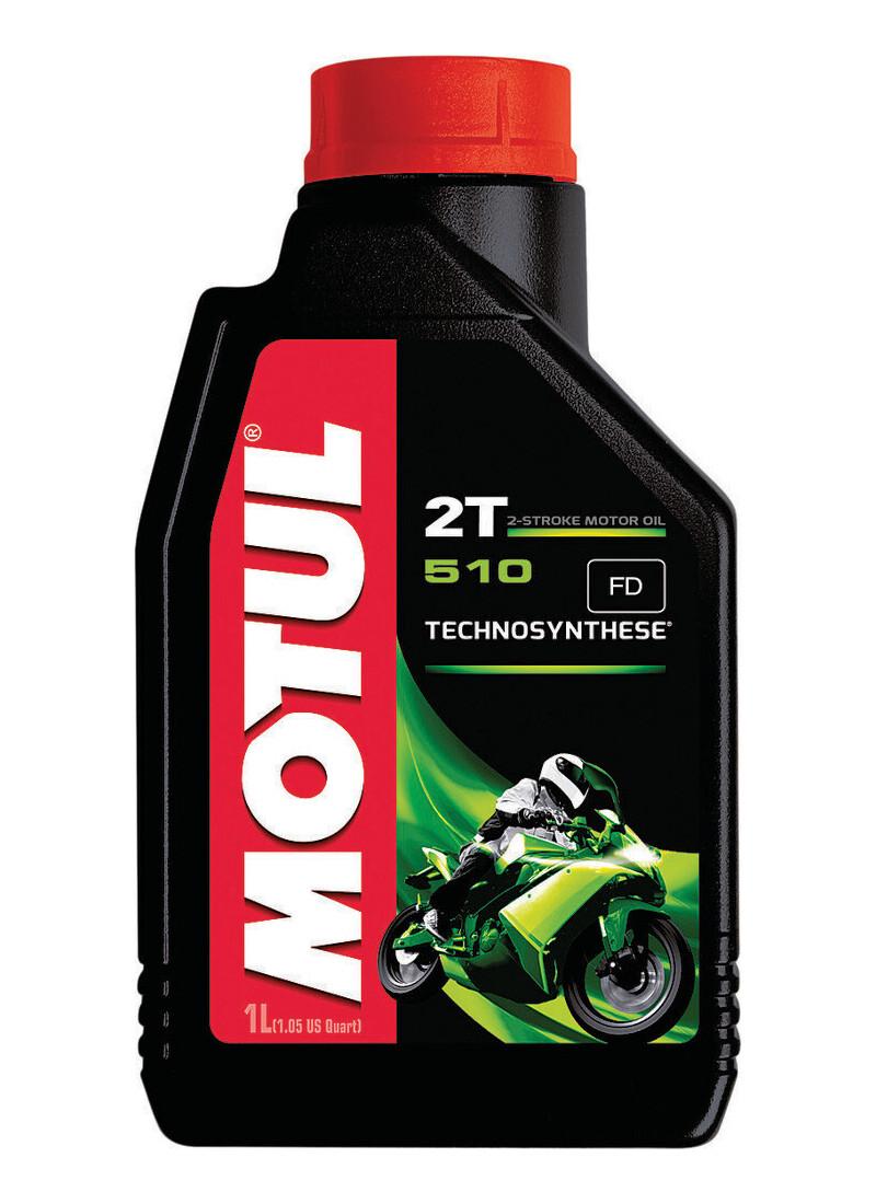 Oil, Pre-Mix, 510 2T, Synthetic Blend, Motul