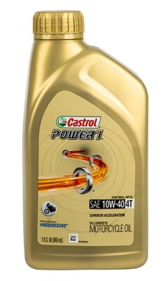 Oil, Engine, Synthetic, 10W40 4T, Castrol