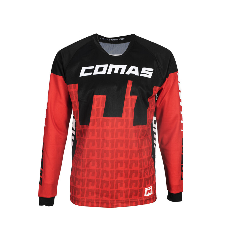 Jersey, Technical, COMAS (Red)
