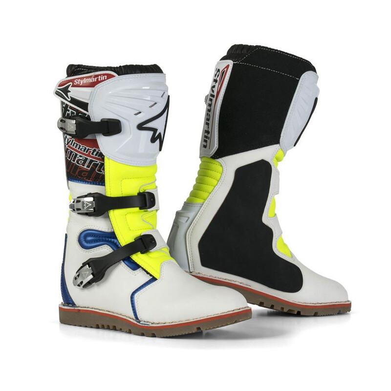 Boots, Trials, Impact Pro, Stylmartin (Blue)