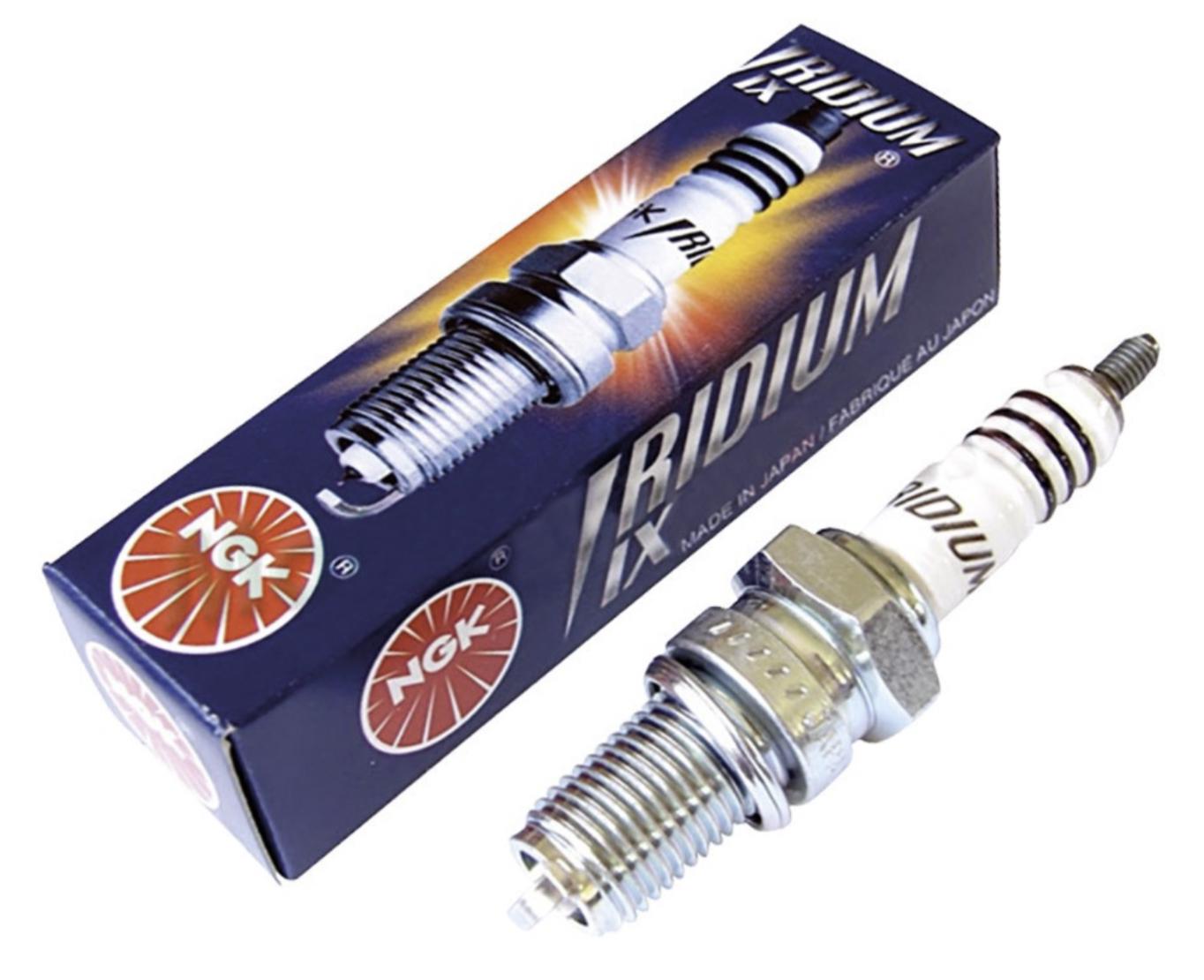 Spark Plug, Iridium, NGK (BR9EIX)