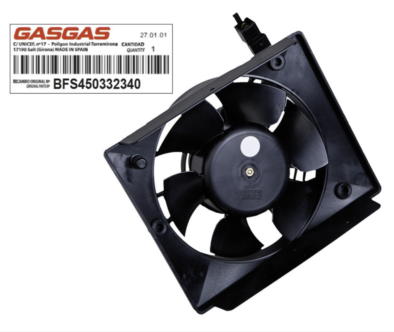 Fan, Cooling, COMEX (Gas Gas)