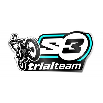 Sticker, Trial Team, S3 (30x60cm)