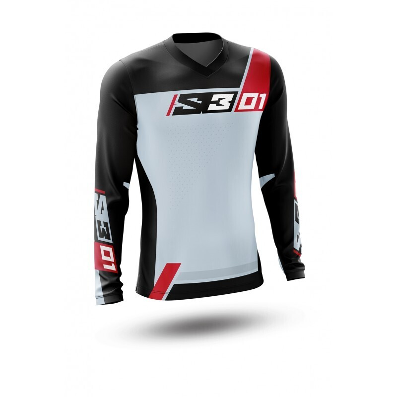 Jersey, Collection 01, Gris, S3