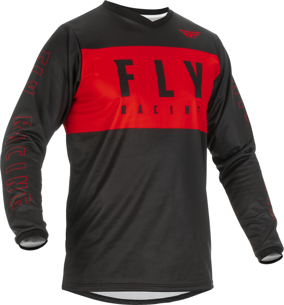 Jersey, F-16, Fly Racing (Red/Black)