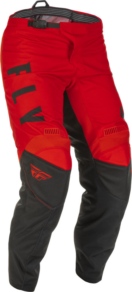 Pants, F-16, Fly Racing (Red/Black)