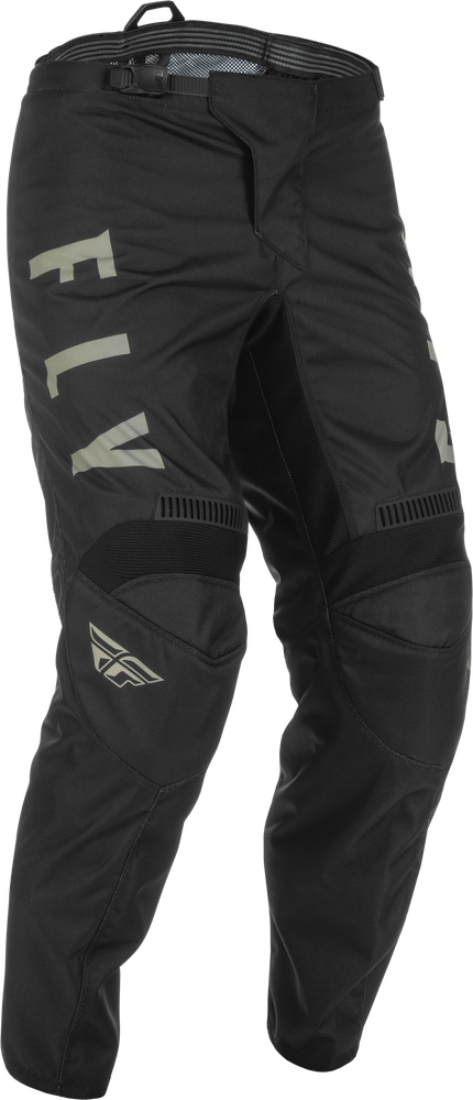 Pants, F-16, Fly Racing (Black/Grey)