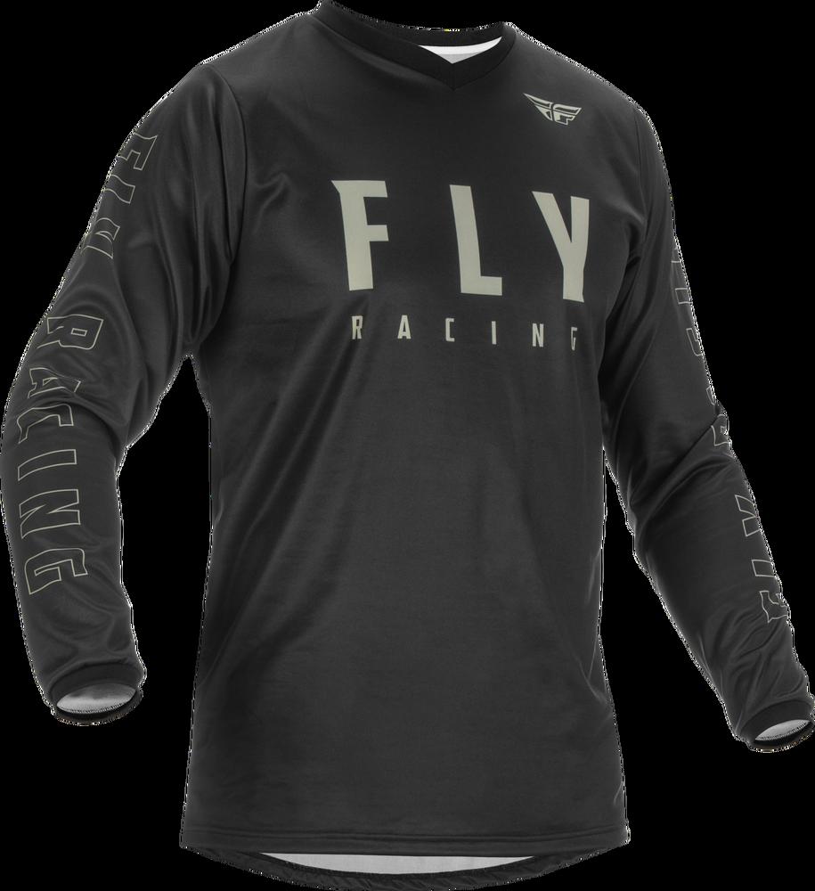 Jersey, F-16, Fly Racing (Black/Grey)