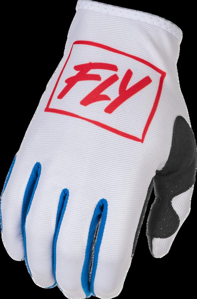 Gloves, Lite, Fly (Red/White/Blue)