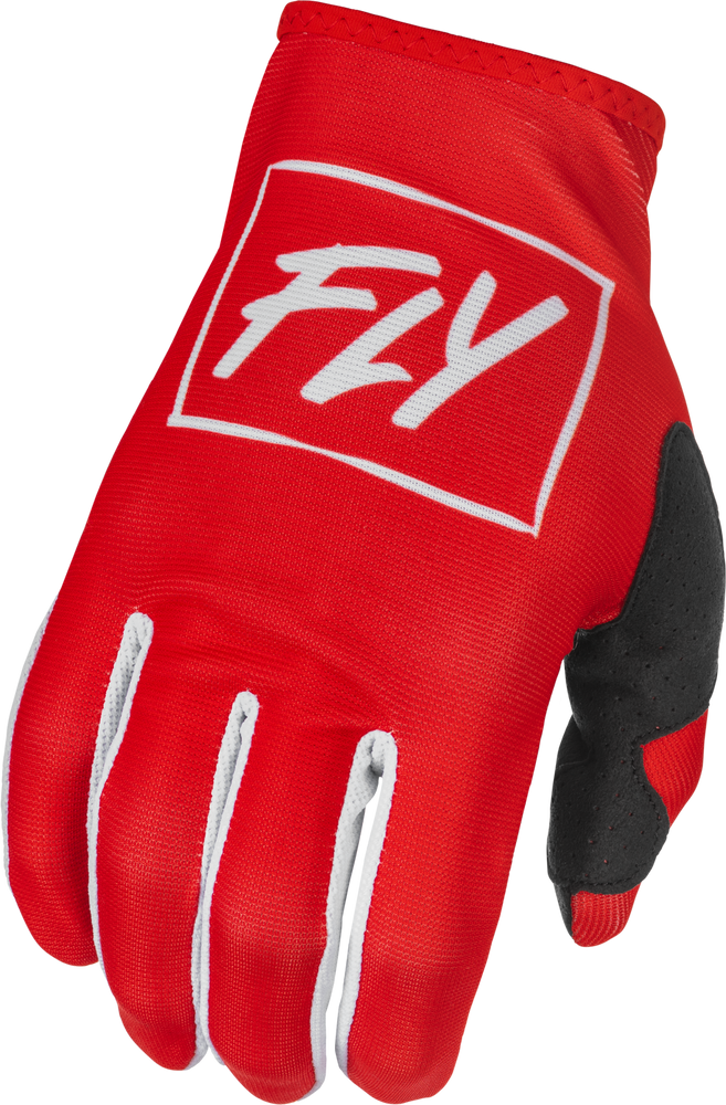 Gloves, Lite, Youth, Fly (Red/White)