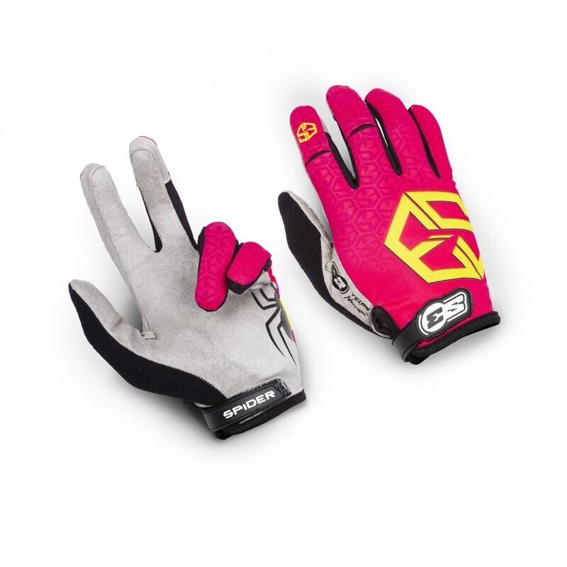 Gloves, Spider, Kids, S3 (Pink)