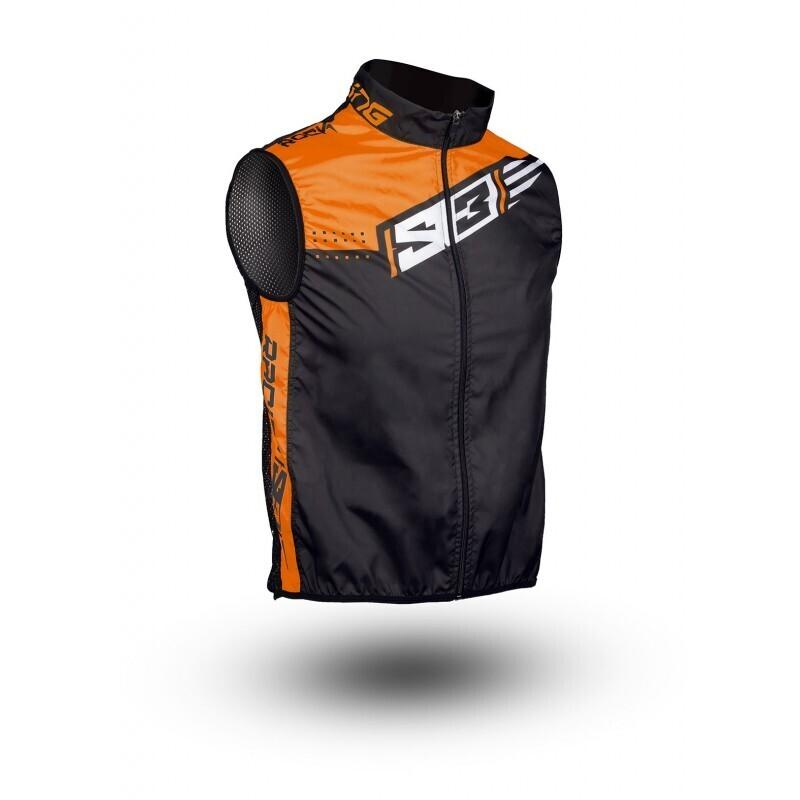 Vest, Technical Windy, S3 (Orange)