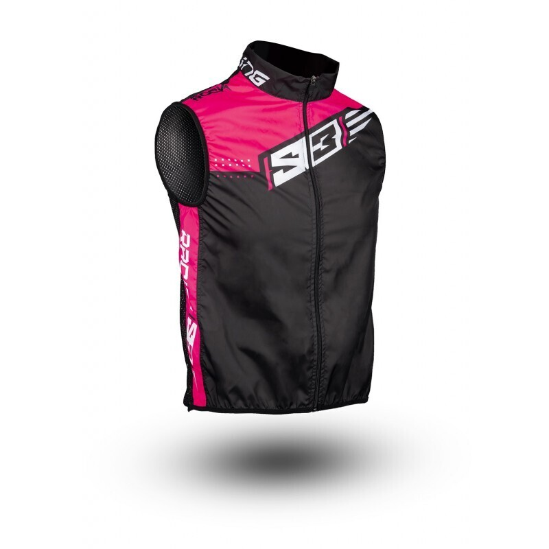 Vest, Technical Windy, S3 (Pink)