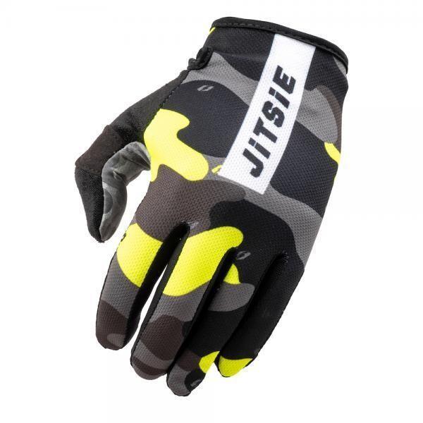 Gloves, G3, Core, Camo, Jitsie (Yellow)