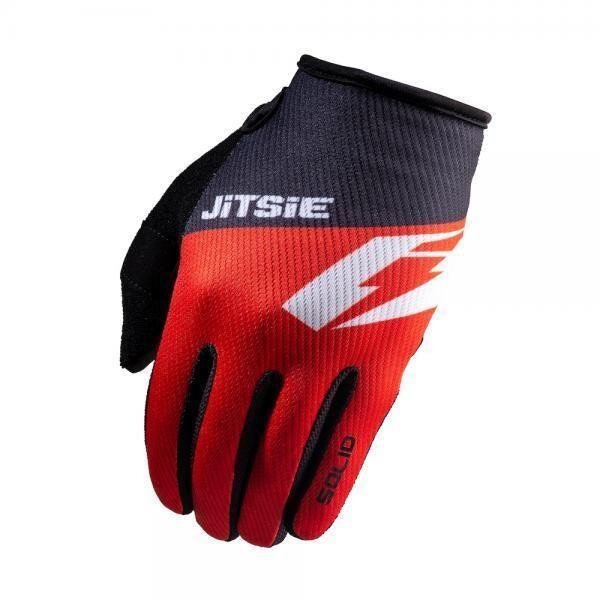 Gloves, G2, Solid, Kids, Jitsie (Red)