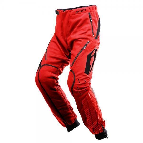 Pants, O1, Omnia, Solid, Jitsie (Red/Black)