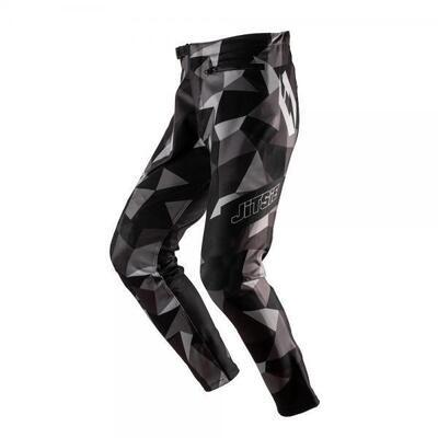 Pants, K3, Polygon, Kids, Jitsie (Black/Silver/Grey)