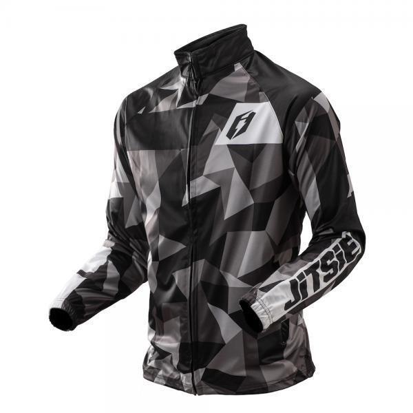 Jacket, Signal, Polygon, Jitsie (Black)