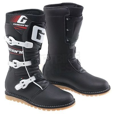 Boots, Trials, Balance, Classic Black, Gaerne