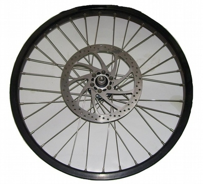 Scorpa 4Triks Front Wheel Assembly