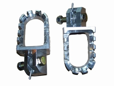 Aluminum Footpegs - CNC Machined from Billet - (Set of 2)