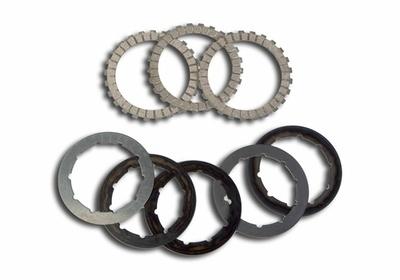 Clutch Disc Set (Friction & Steel) - Gas Gas - Surflex - 8 Pieces