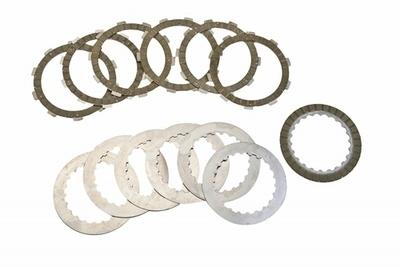 Clutch Disc Set (Friction & Steel) - Gas Gas - Surflex - 12 Pieces