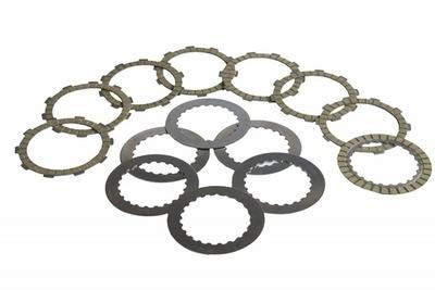 Clutch Disc Set (Friction & Steel) - Gas Gas - Surflex - 14 Pieces