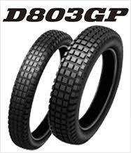Tire, Rear, Dunlop - 803GP