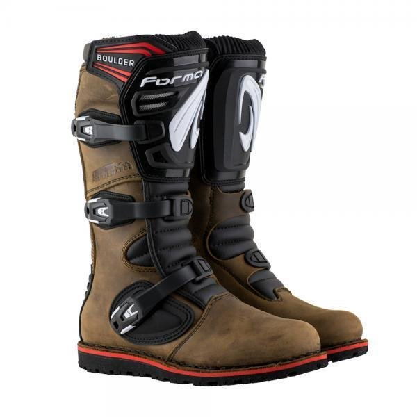 Boots, Trials, Boulder, Brown