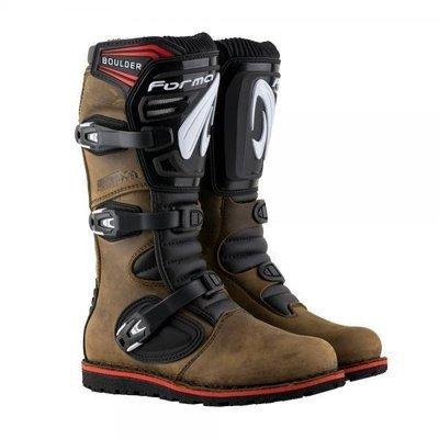 Boots, Trials, Forma, Boulder