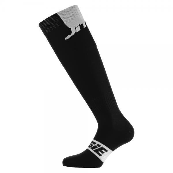 Jitsie- Long Socks- Black/White