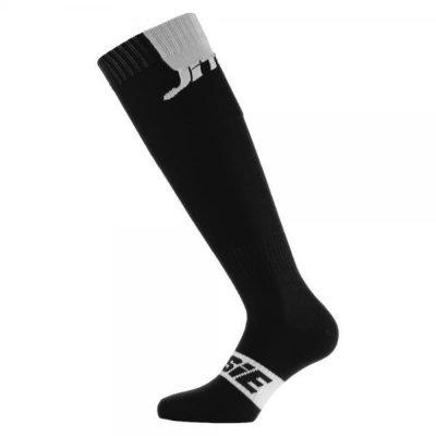 Jitsie- Long Socks- Black/White