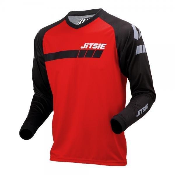 Jersey, K3, Triztan, Kids, Jitsie (Red/Black)