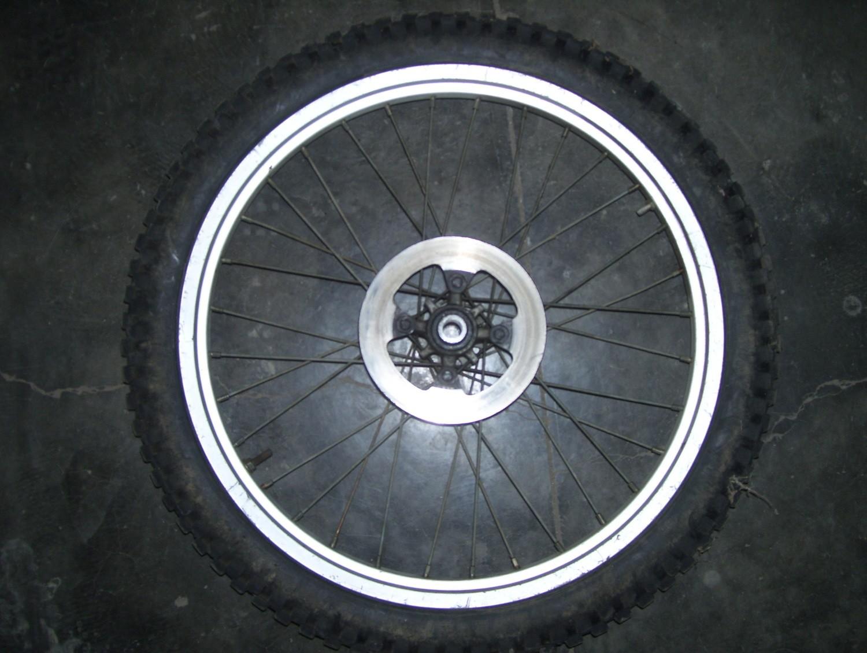Beta rev/techno front wheel w/disk