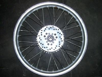 Aprilla Climber Rear Wheel W/disk and sprocket