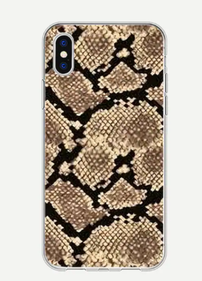 WAS $12.95 - 40% OFF! Snakeskin Printed Case for iPhone 7/8