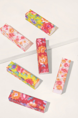 WAS $6.95 - 60% OFF! Floral Designed Nail Files Pack of Two