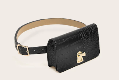 WAS $14.95 - 40% OFF Crocodile Design Fanny Pack