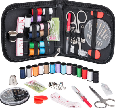 WAS $19.95 - 35% OFF!  Impressive 70Pc Portable Sewing Kit