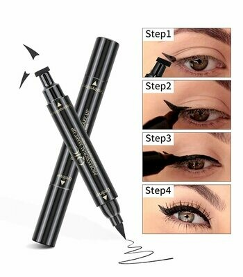 NEW Instant Eyeliner Stamp - Want that Perfect Eyeliner Look in Seconds? Two Piece Winged Instant Eyeliner Stamp