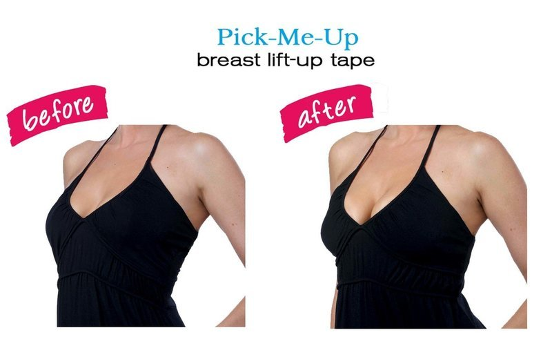 Instant Breast Lift  Lifts from the Top  3 Pair Size A - D