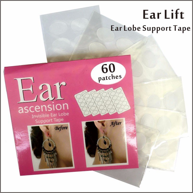 Instant Ear Lifts - 20 Pair  Lifts Ear Lobe Applies to Back For Proper Earring Height