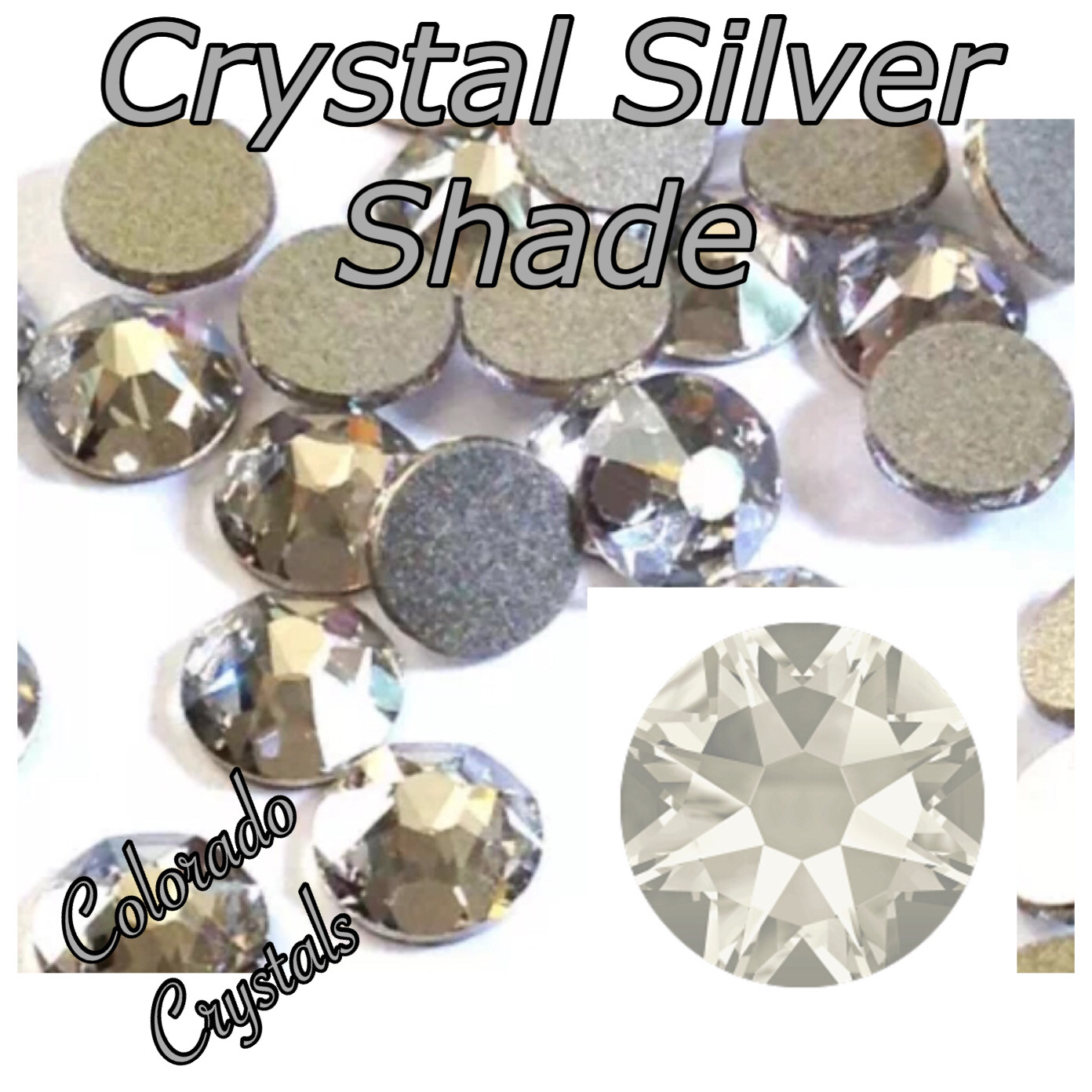 Silver Shade (Crystal) 12ss 2088 Limited