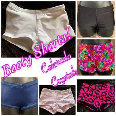 Custom made Child Shorts New for Dance gymnastics cheer Athletic wear